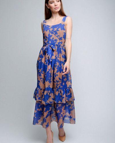 Вечернее платье турецкий синее Luisa Wang
