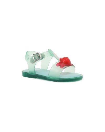 Сандалии зеленый маленький Mini Melissa