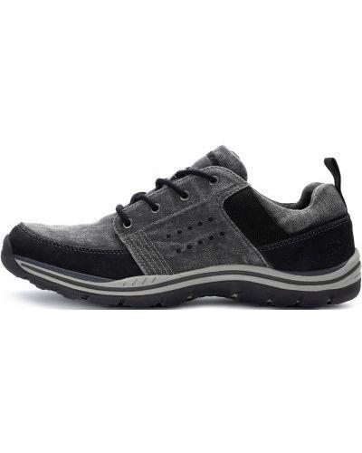 Кожаные полуботинки спортивный на шнуровке Skechers