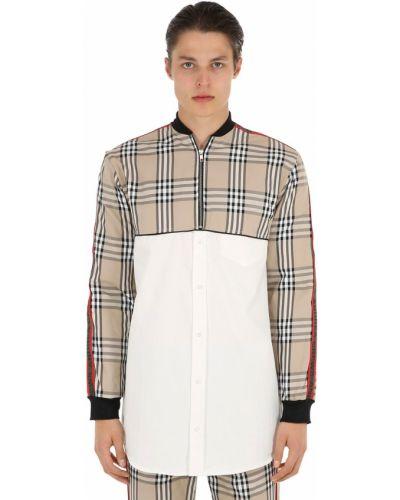 Klasyczna klasyczna koszula w paski Andrea Crews