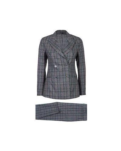 Шерстяной костюм - серый Eleventy