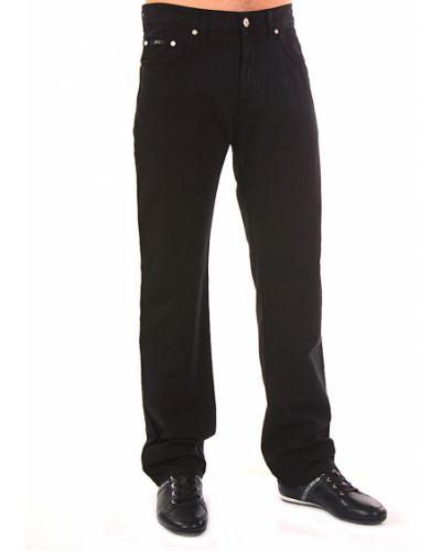 Хлопковые джинсы - черные Hugo Boss