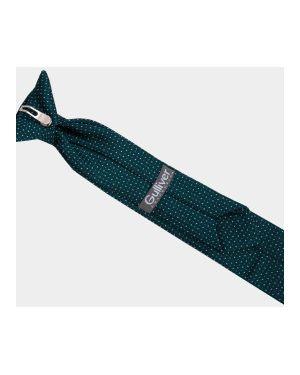Галстук зеленый в горошек Gulliver Wear