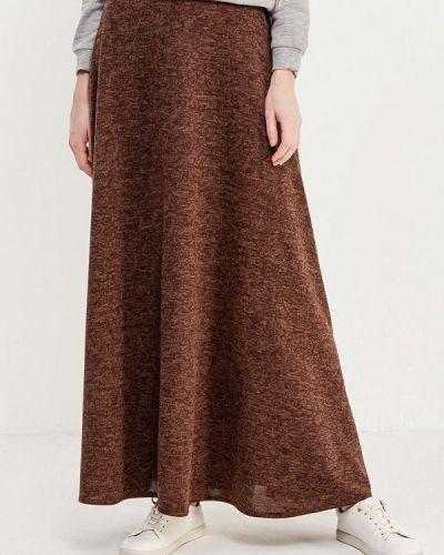 Коричневая юбка осенняя Alina Assi
