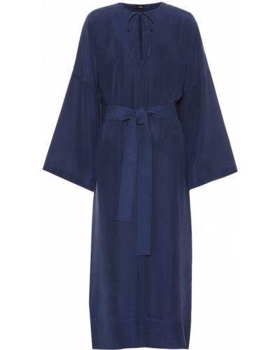 Платье миди с поясом кимоно Joseph