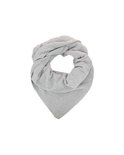 Серый кашемировый шарф Not Shy