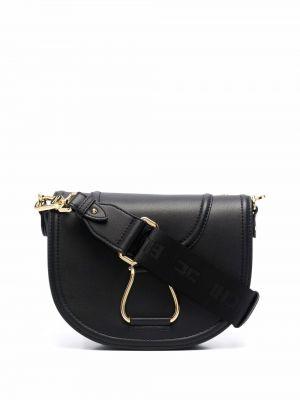 Черная сумка металлическая Elisabetta Franchi
