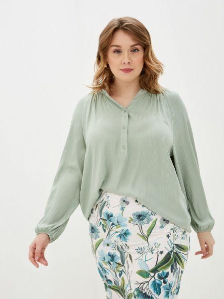 Блузка с длинным рукавом бирюзовая весенний Ovs