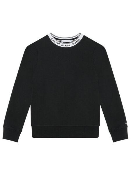 Czarny dres Calvin Klein Jeans