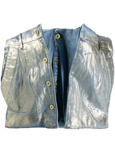 Юбка мини джинсовая с завышенной талией Y Project