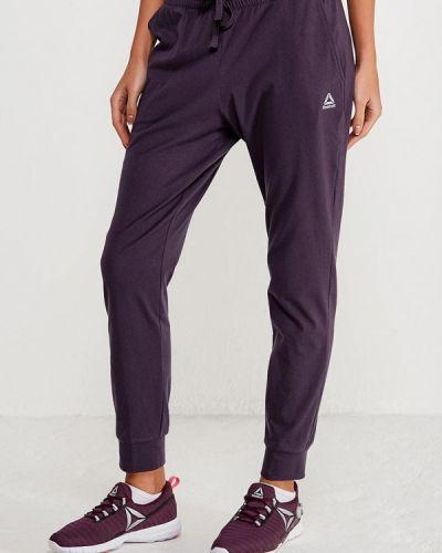 Фиолетовые спортивные брюки Reebok