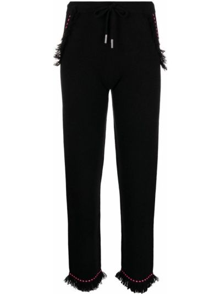 Укороченные брюки - черные Max & Moi