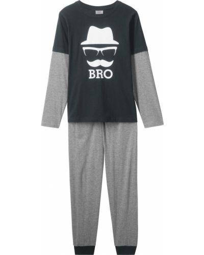 Пижама с принтом Bonprix