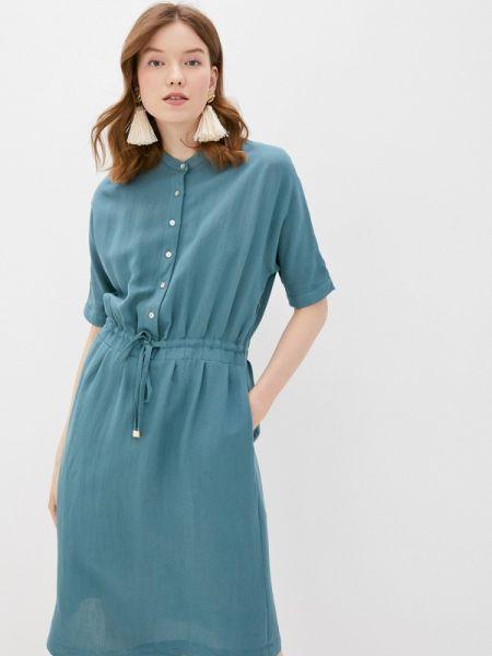 Повседневное платье зеленый весеннее Vilatte