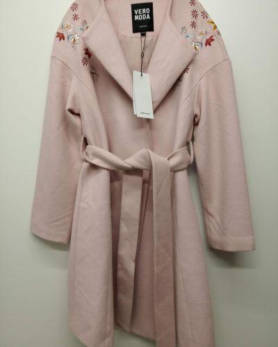Шерстяное пальто - бежевое Vero Moda