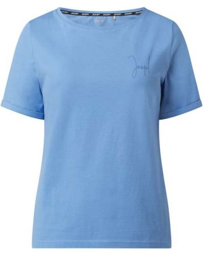 Niebieski t-shirt bawełniany Joop! Bodywear