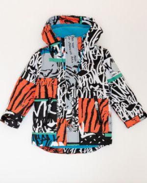Куртка демисезонная оранжевый Button Blue