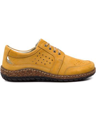 Туфли - желтые Waldi