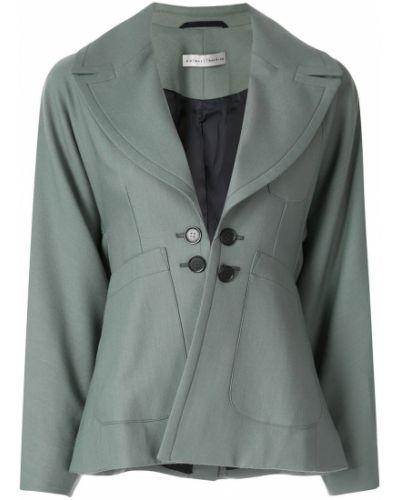 Прямой приталенный удлиненный пиджак с карманами Palmer / Harding