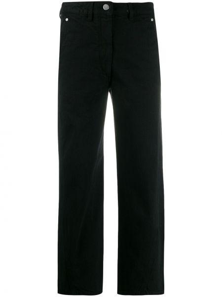 Bawełna prosto bawełna jeansy do kostek z paskiem Lemaire