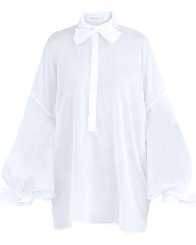Блузка с длинным рукавом прямая в стиле бохо Ermanno Scervino
