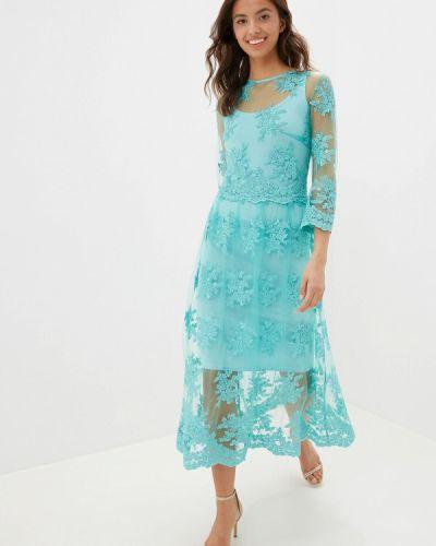 Вечернее платье бирюзовый Shegida