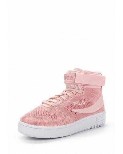 Розовые кроссовки Fila