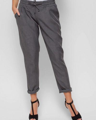 Серые брюки прямые Karree