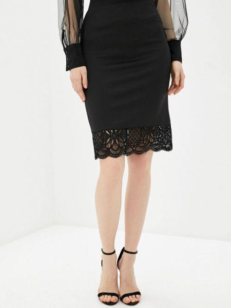 Облегающее платье черное клубное Concept Club