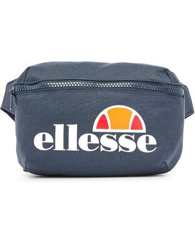 Нейлоновая синяя спортивная поясная сумка Ellesse