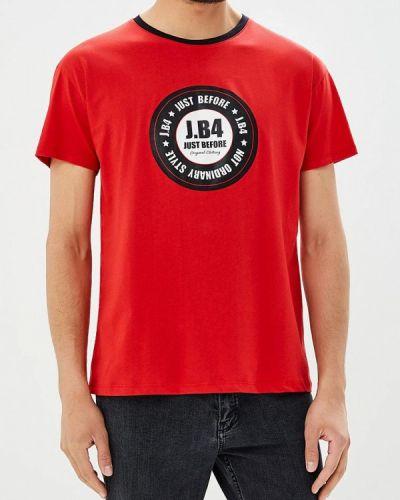 Красная футболка J.b4
