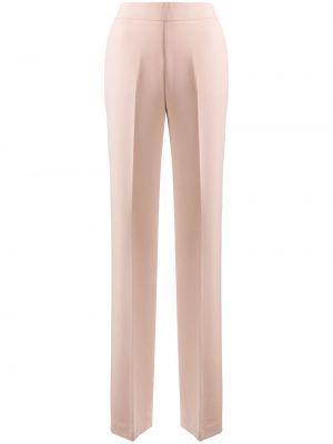 Свободные брюки свободного кроя с высокой посадкой из вискозы с потайной застежкой Blumarine