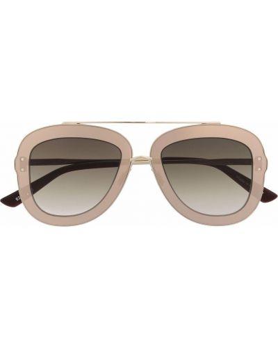 Beżowe okulary Christian Roth