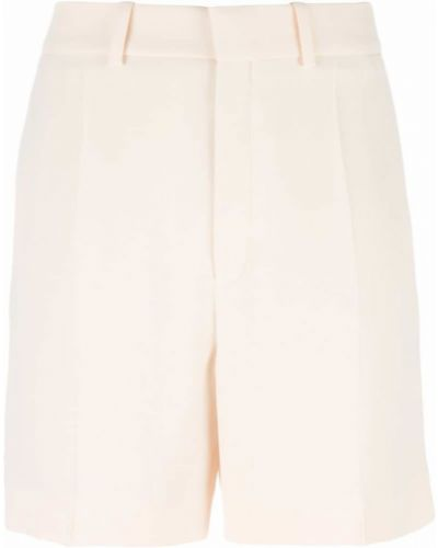 Бежевые шорты классические Chloé