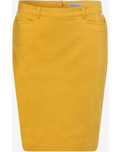Żółta spódnica ołówkowa Apriori