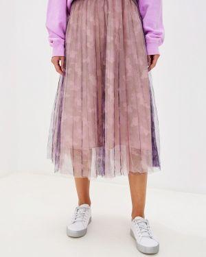 Плиссированная юбка фиолетовый Glam Goddess