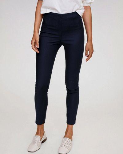 Синие повседневные брюки Mango
