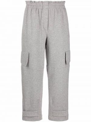 Серые хлопковые брюки Luisa Cerano