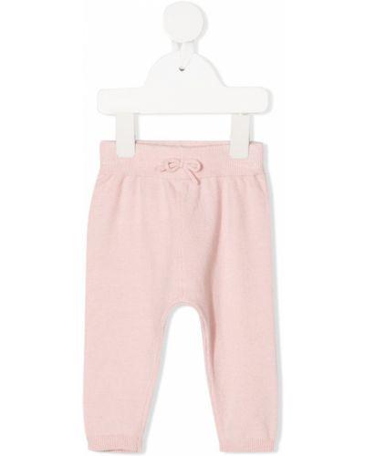 Брючные розовые брюки с манжетами Absorba