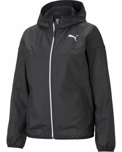 Czarna kurtka z kapturem Puma