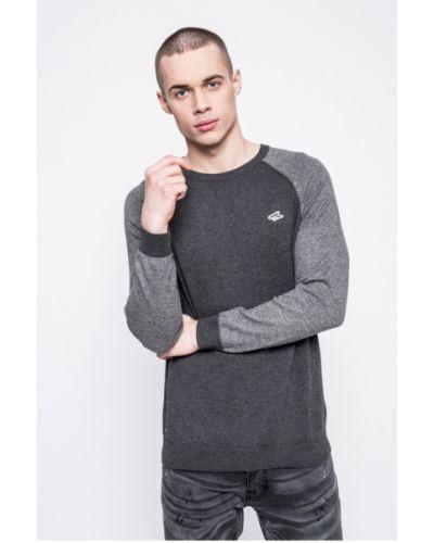Серый свитер однотонный Le Shark