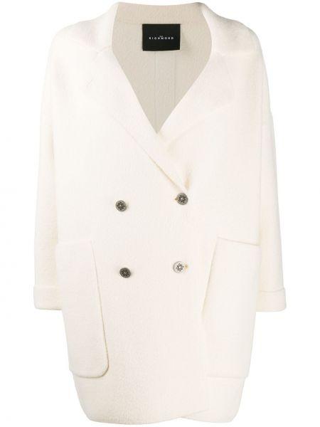 Biały płaszcz John Richmond
