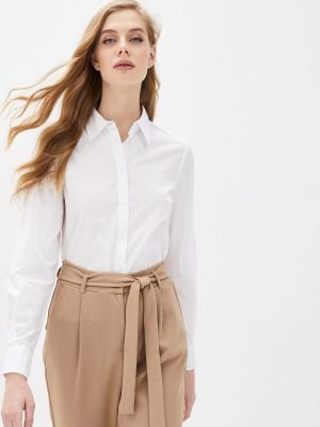 Рубашка с длинным рукавом белая Ovs