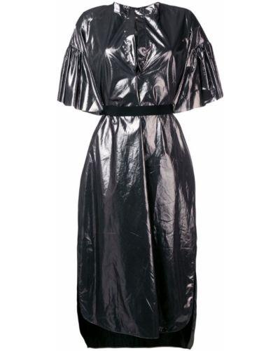Платье с V-образным вырезом платье-рубашка Nude
