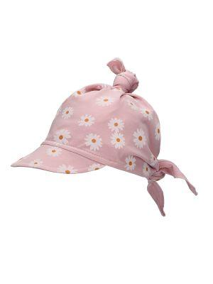 Różowy kapelusz materiałowy Barbaras