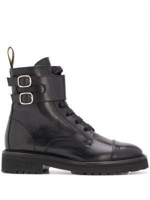 Ботильоны на каблуке - черные Doucal's