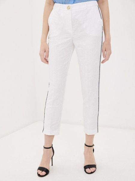 Белые брюки Cavalli Class