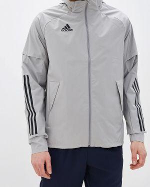 Куртка серая Adidas