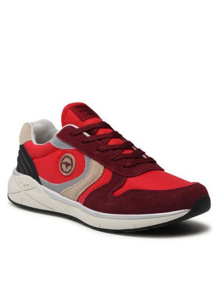Czerwone sneakersy Kangaroos