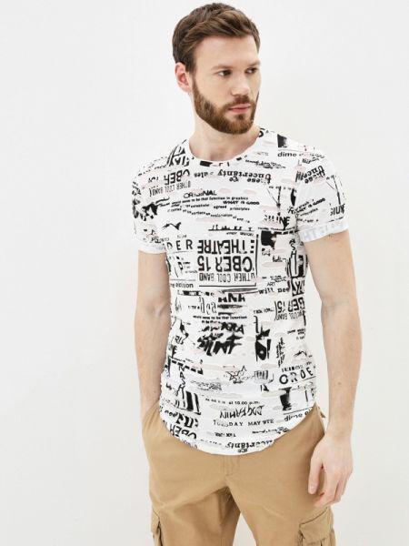Белая футболка Young & Rich